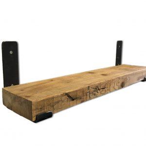 Wandplank oude balk grenen
