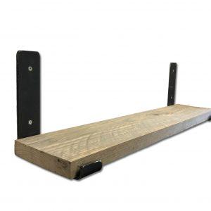 Wandplank van steigerhout