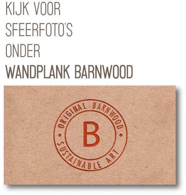 Tekst-afbeelding-Wandplank Barnwood