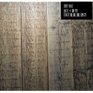 Wandplank-oude balk-product