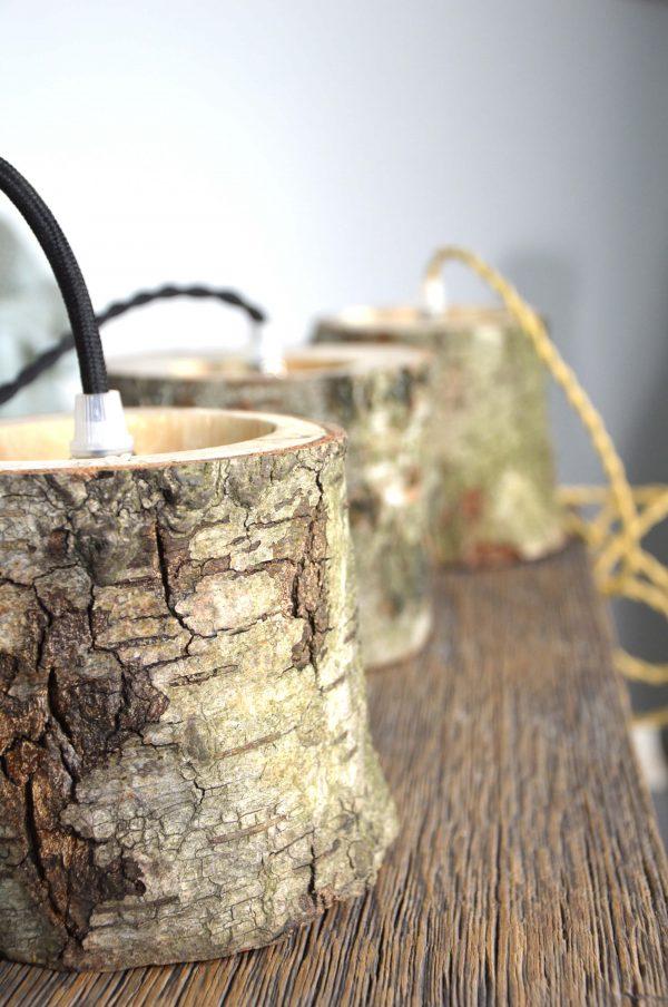 Sfeervolle hanglamp van berkenhout 01