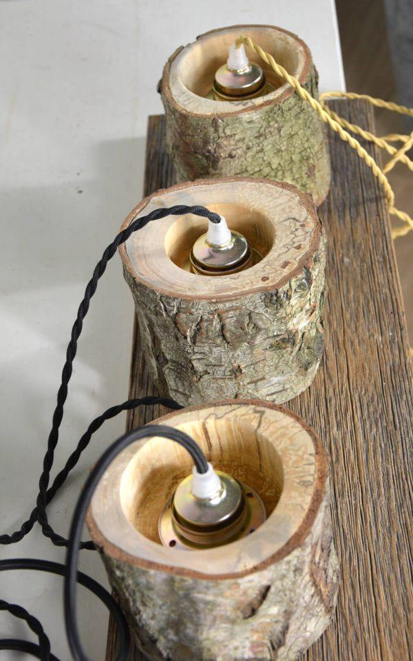 Sfeervolle hanglamp van berkenhout 04