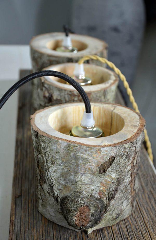 Sfeervolle hanglamp van berkenhout 06